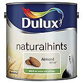 Dulux Silk Emulsion Paint, Almond White, 2.5L