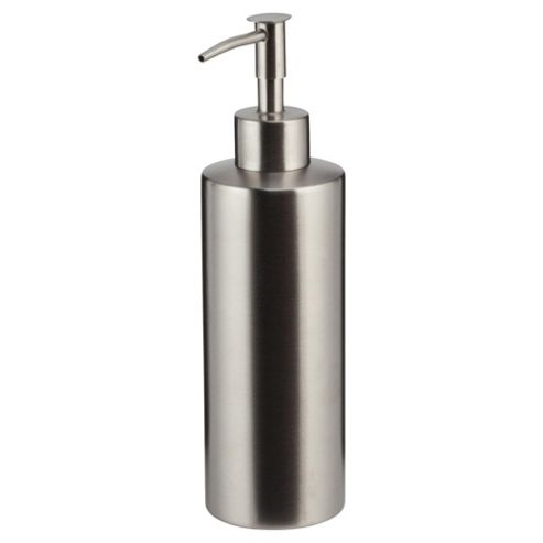 Tesco stainless steel brushed soap dispenser