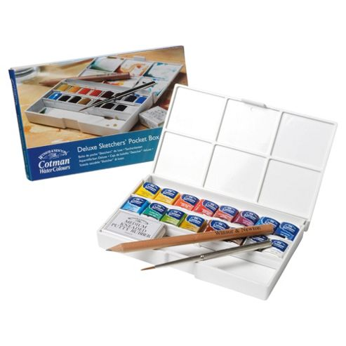 Winsor & Newton Cotman Deluxe Sketchers Pocket Box