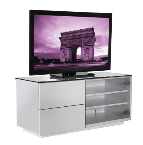 UK-CF Cityscape Paris TV Stand - White