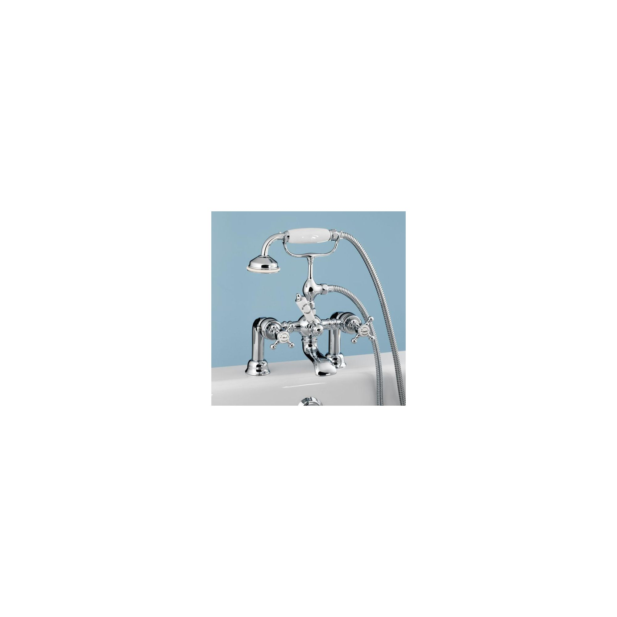 BC Sanitan Victorian Bath/Shower Mixer Chrome at Tesco Direct