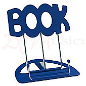 K&M Blue 'Book' Desktop Music Stand