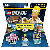 LEGO DIMENSIONS LEVEL PACK SIMPSONS