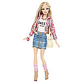 Barbie Style Doll Floral Barbie