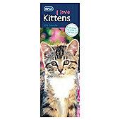 RSPCA Kittens 2016 Slim Calendar
