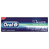 Oral B 3D White Enamel Protect Toothpaste 75Ml.