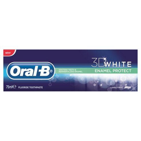 Oral B 3D White Enamel Protect Toothpaste 75Ml.