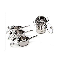 Wmf Stainless Steel 5 Piece Diadem Pan Set