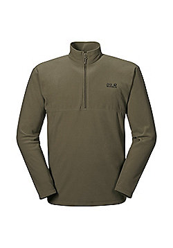 Jack Wolfskin Mens Gecko Overhead Fleece - Green