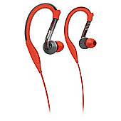 Philips SHQ3200 ActionFit Sports ear hook Headphones - Red