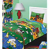 Farm Animal Toddler Bed Linen, 100% Pure Cotton