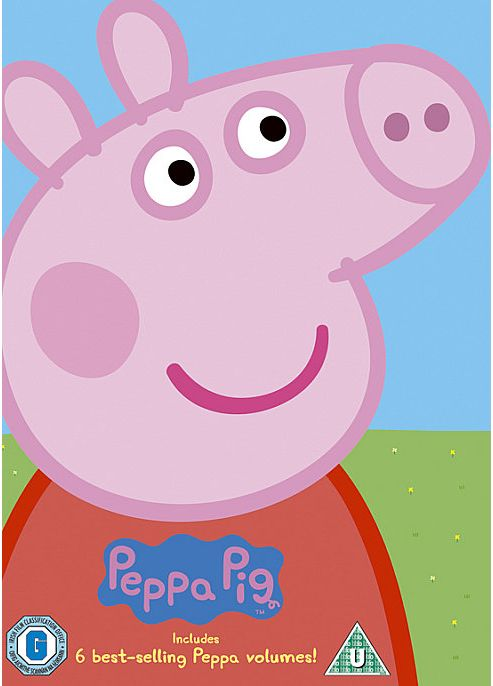 Peppa Pig Head Box Set (Muddy/Bubbles/Birthday/Stars/Balloon/Fire Engine) (DVD Boxset)