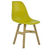 FRW Dining Chair Lemon Lime Natural Leg