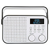 Tesco DR1404G DAB Radio Grey