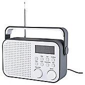 Tesco DR1404G DAB Radio Grey