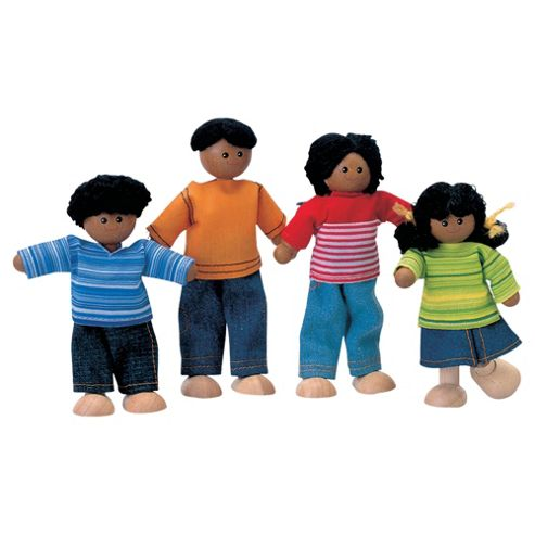 Plan Toys Ethnic Doll Family, wooden toy