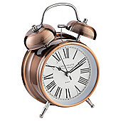 Tesco Copper Twinbell Alarm Clock