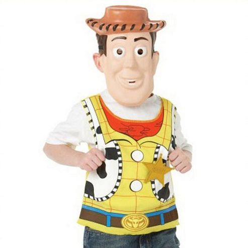 Disney Pixar Toy Story 3 Woody Mask and Tabard