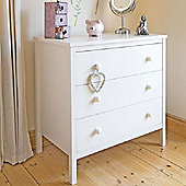 Sugar & Spice Chest of Drawers - White