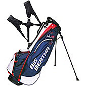 Callaway Golf Mens Big Bertha Hyper Lite 2 Golf Bag (Stand) in Blue & White & Red