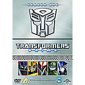 Transformers Prime - Series 1 (Parts 1-5) DVD