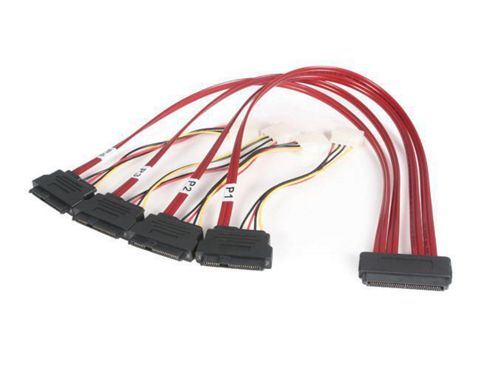 StarTech (50cm) Serial Attached SCSI SAS Cable - SFF-8484 to SFF-8482