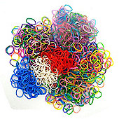 Jacks Loom Bands 5 multi-coloured Pack Bundle - 1250 Bands