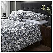 Cotton Rich Vintage Floral Print Duvet Set, Superking