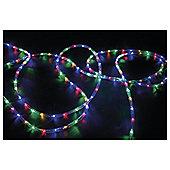 Festive 240 LED Rope Light, Multi-Coloured