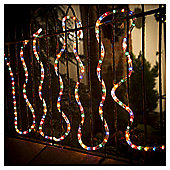 Festive 240 LED Rope Light, Multi-Coloured