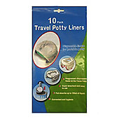 Disposable Travel Potty Liner 10 pack