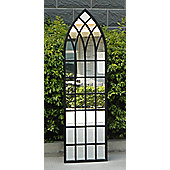 Bentley Garden Gothic Style Arch Black Mirror