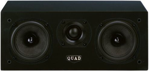 QUAD L-ITE 2 CENTRE SPEAKER (BLACK)