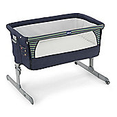 Chicco Next2Me Side-Sleeping Crib (Denim)