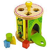Bigjigs Toys BB019 Rolling Activity Centre