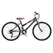 "Claud Butler CBR Montare Kids' 24"" Wheel Black Junior Bike"