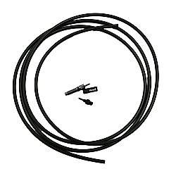 RockShox Hydraulic Hose Kit Reverb 2000mm (Inc. NEW Hose/Barb/Strain Relief) Black