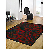 Element Warwick Red/Black 80x150 cm Rug