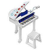 Bontempi Children's Electronic Grand Piano with Microphone