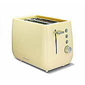 Morphy Richards 221104 Chroma 1000W Plastic Toaster, Cream