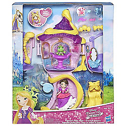 Disney Princess Little Kingdom Small Doll Rapunzels Tower