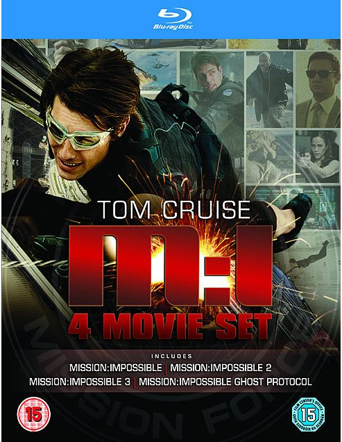 Mission Impossible Quad (Blu-Ray Boxset)
