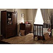 Obaby Lincoln Mini 3 Piece Furniture Set - Walnut