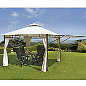 Casablanca Gazebo with Awning Extension