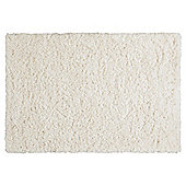 Tesco Soft Shaggy Rug Cream 100x150cm
