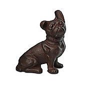 Cast Iron Dog Garden Ornament - Design B
