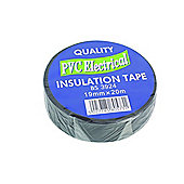 Pvc Electrical Insulation Tape Roll Reel 19mm 20M Black