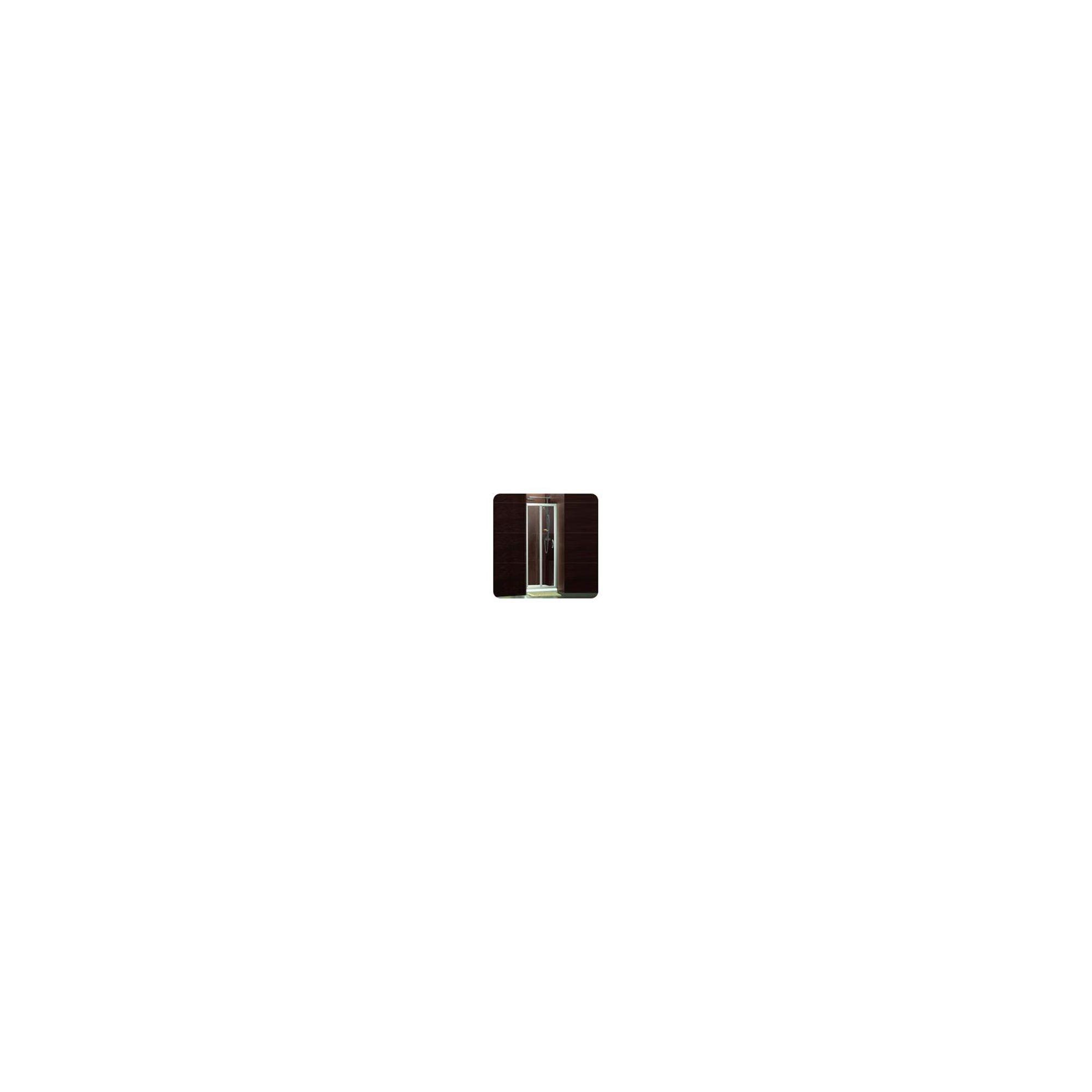 Balterley Framed ALCOVE Bi-Fold Shower Enclosure, 900mm x 900mm, Standard Tray, 6mm Glass at Tesco Direct
