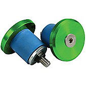 Madd Gear BAMF Bar Ends - Green