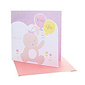 Mothercare Baby Girl Card